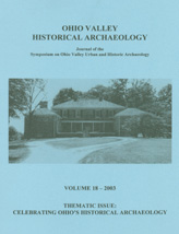 Thematic Issue: Celebrating Ohio's Historical Archaeology